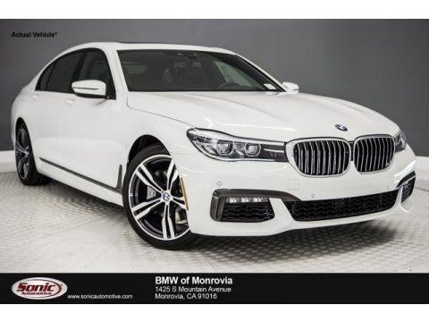 Alpine White 2018 BMW 7 Series 740i Sedan