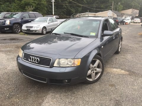 Dolphin Grey Metallic 2004 Audi A4 1.8T quattro Sedan