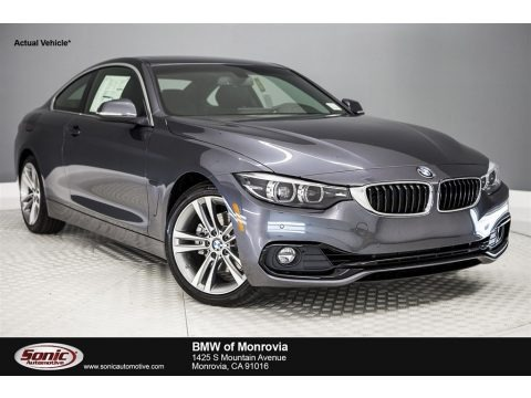 Mineral Grey Metallic 2018 BMW 4 Series 430i Coupe