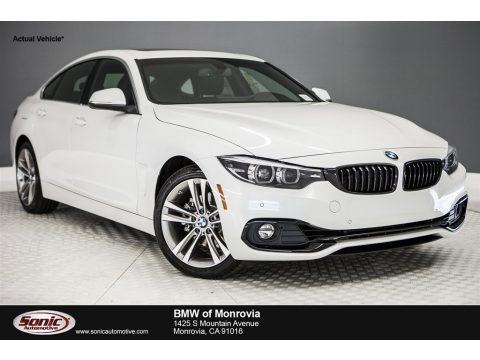 Mineral White Metallic 2018 BMW 4 Series 430i Gran Coupe