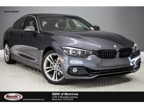 Mineral Grey Metallic 2018 BMW 4 Series 430i Gran Coupe