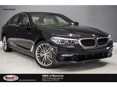 Black Sapphire Metallic 2017 BMW 5 Series 530i Sedan