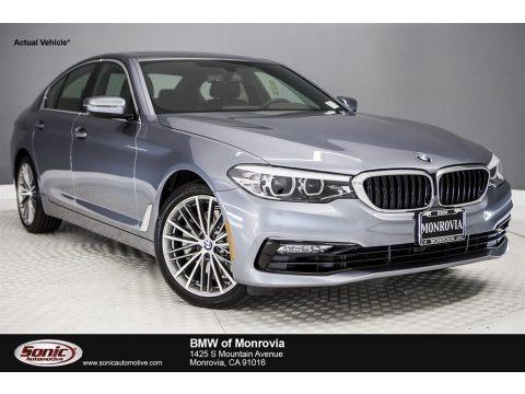 Bluestone Metallic 2017 BMW 5 Series 530i Sedan