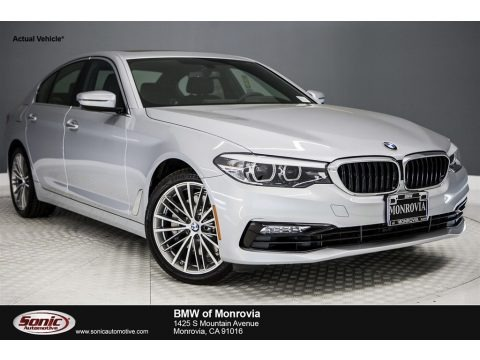 Glacier Silver Metallic 2017 BMW 5 Series 530i Sedan