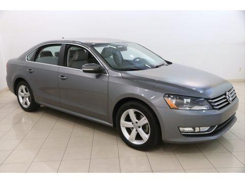 Platinum Gray Metallic 2015 Volkswagen Passat Wolfsburg Edition Sedan