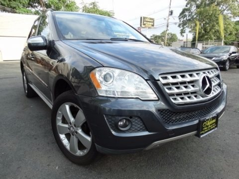 Alpine Rain Metallic 2010 Mercedes-Benz ML 350 4Matic