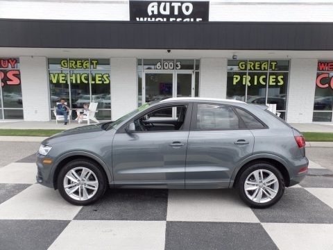 Monsoon Gray Metallic 2017 Audi Q3 2.0 TFSI Premium Plus