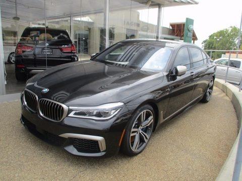 Black Sapphire Metallic 2018 BMW 7 Series M760i xDrive Sedan