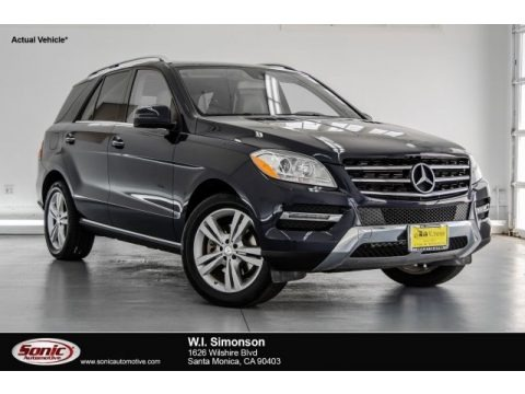 Lunar Blue Metallic 2015 Mercedes-Benz ML 350
