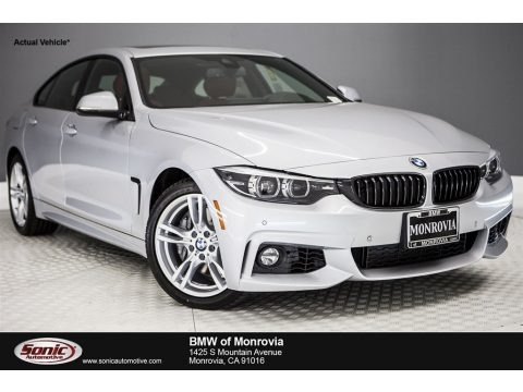 Glacier Silver Metallic 2018 BMW 4 Series 440i Gran Coupe