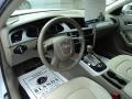 Audi A4 2.0T quattro Sedan Glacier White Metallic photo #6