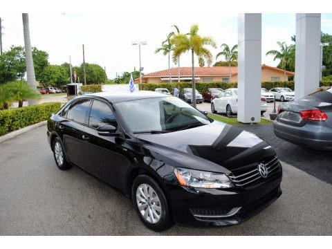Black 2015 Volkswagen Passat Wolfsburg Edition Sedan