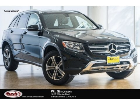 Black 2018 Mercedes-Benz GLC 300 4Matic