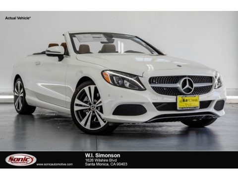designo Diamond White Metallic 2018 Mercedes-Benz C 300 Cabriolet