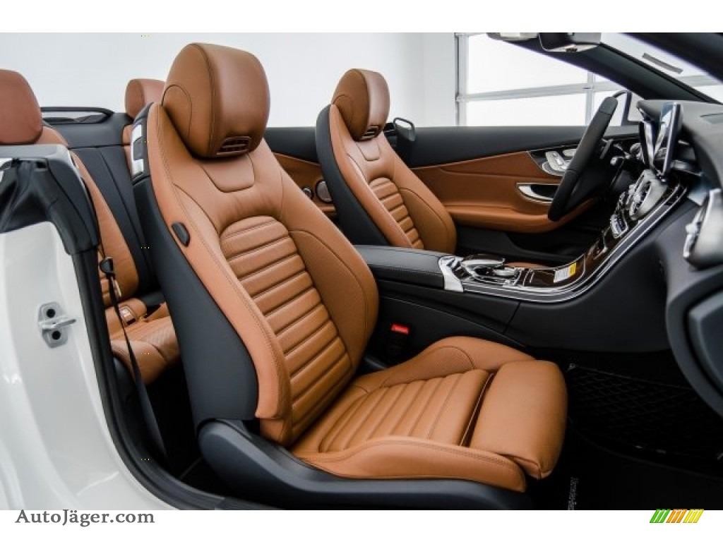 2018 C 300 Cabriolet - designo Diamond White Metallic / Saddle Brown/Black photo #2