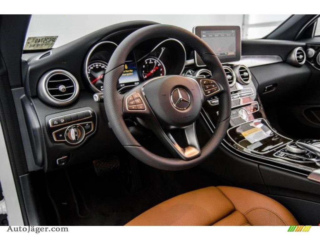 2018 C 300 Cabriolet - designo Diamond White Metallic / Saddle Brown/Black photo #6