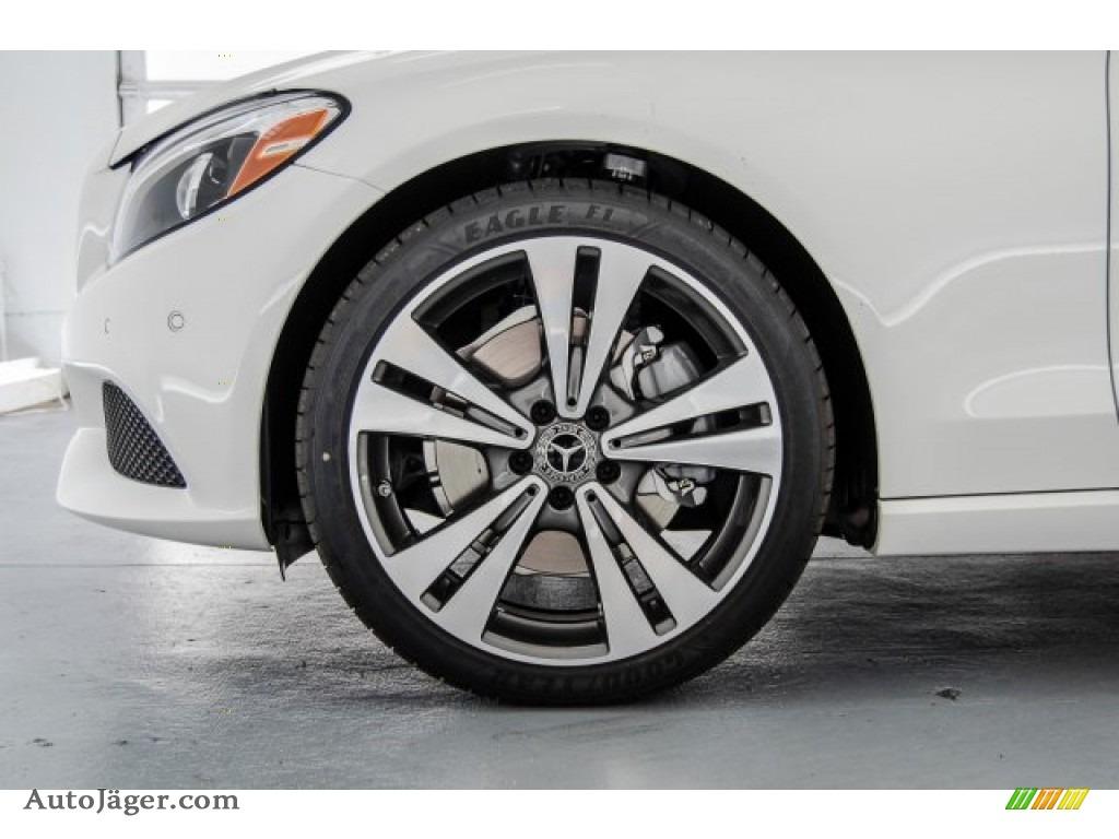 2018 C 300 Cabriolet - designo Diamond White Metallic / Saddle Brown/Black photo #9