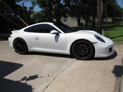 White 2013 Porsche 911 Carrera S Coupe