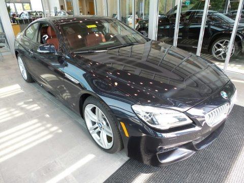 Carbon Black Metallic 2017 BMW 6 Series 650i xDrive Coupe