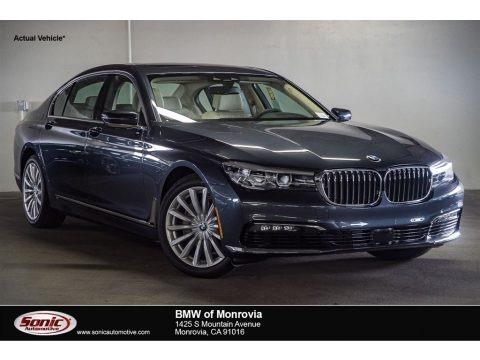 Arctic Grey Metallic 2018 BMW 7 Series 740i Sedan