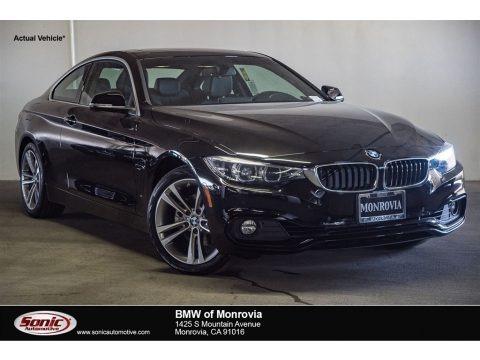 Jet Black 2018 BMW 4 Series 430i Coupe