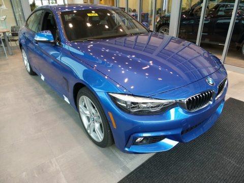 Estoril Blue Metallic 2018 BMW 4 Series 440i xDrive Gran Coupe