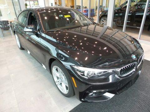 Black Sapphire Metallic 2018 BMW 4 Series 440i xDrive Gran Coupe