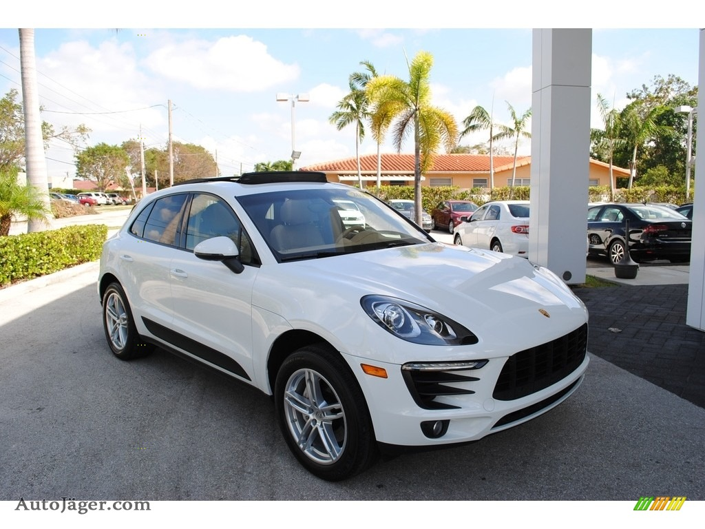 2015 Macan S - White / Luxor Beige photo #1