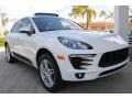 Porsche Macan S White photo #2