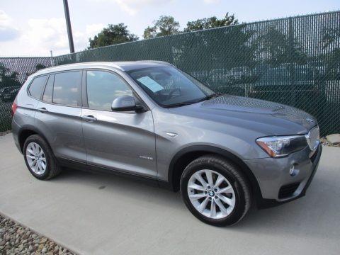 Space Grey Metallic 2015 BMW X3 xDrive28i