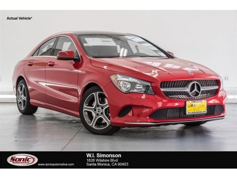 Jupiter Red 2018 Mercedes-Benz CLA 250 Coupe