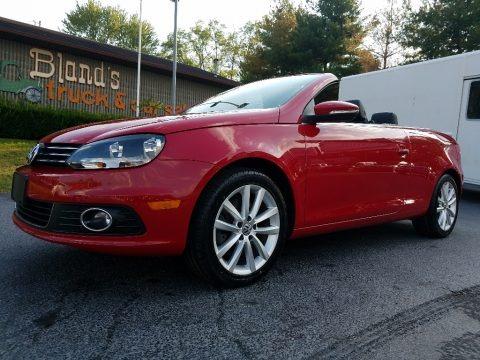 Salsa Red 2013 Volkswagen Eos Komfort