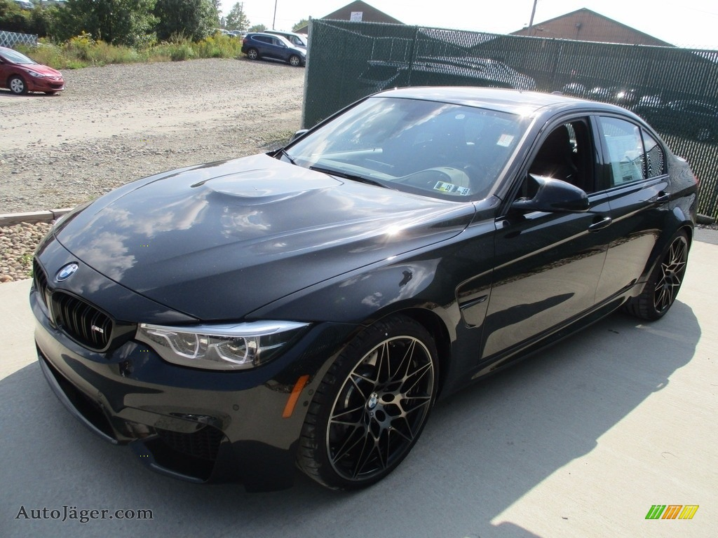 2018 M3 Sedan - Black Sapphire Metallic / Black photo #9