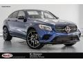 Mercedes-Benz GLC AMG 43 4Matic Coupe Brilliant Blue Metallic photo #1
