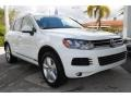 Volkswagen Touareg V6 Lux 4Motion Pure White photo #2