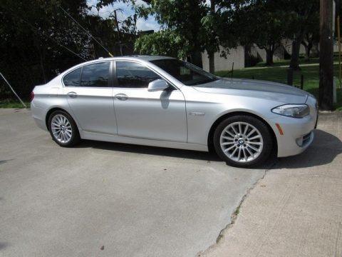 Cashmere Silver Metallic 2012 BMW 5 Series 535i Sedan