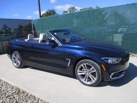 Imperial Blue Metallic 2018 BMW 4 Series 430i xDrive Convertible
