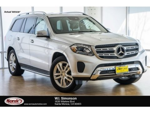 Iridium Silver Metallic 2017 Mercedes-Benz GLS 450 4Matic