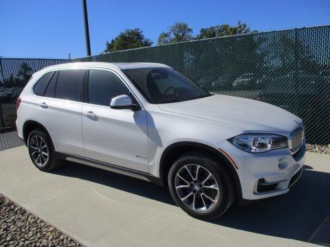 Mineral White Metallic 2018 BMW X5 xDrive35i