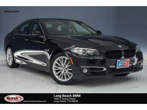Black Sapphire Metallic 2015 BMW 5 Series 528i Sedan