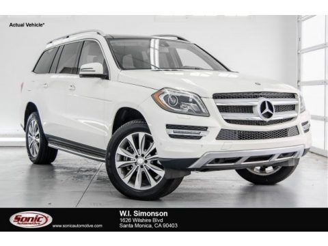 Diamond White Metallic 2014 Mercedes-Benz GL 450 4Matic