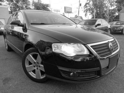 Deep Black 2009 Volkswagen Passat Komfort Sedan