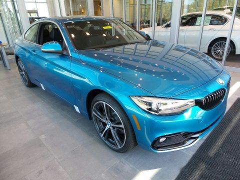Snapper Rocks Blue Metallic 2018 BMW 4 Series 430i xDrive Coupe