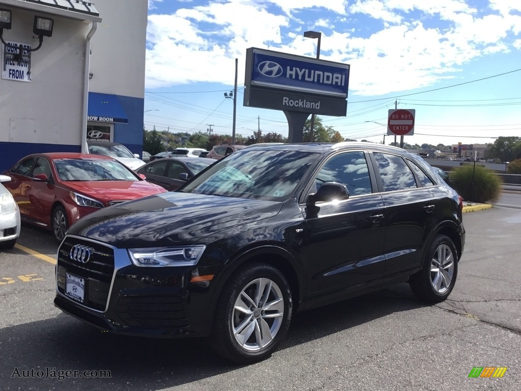 2018 Q3 2.0 TFSI Premium quattro - Brilliant Black / Black photo #1