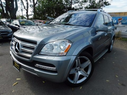 Pearl Beige Metallic 2012 Mercedes-Benz GL 550 4Matic