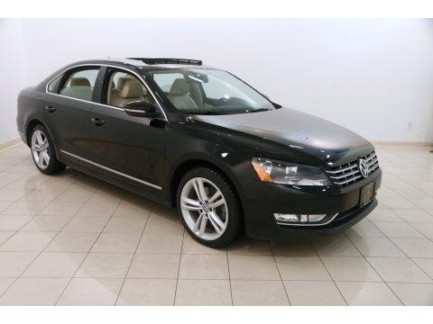 Black 2012 Volkswagen Passat TDI SEL