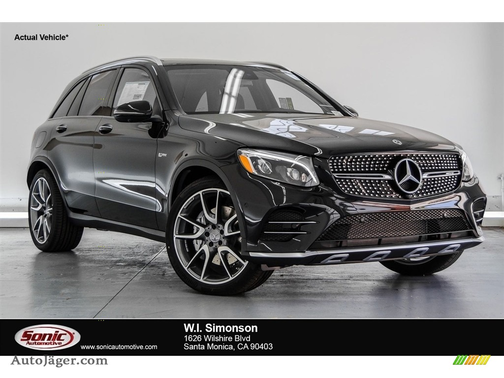 2018 GLC AMG 43 4Matic - Black / Black photo #1