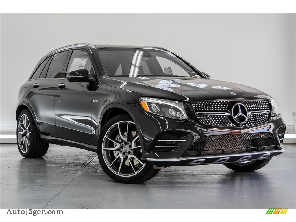 2018 GLC AMG 43 4Matic - Black / Black photo #12