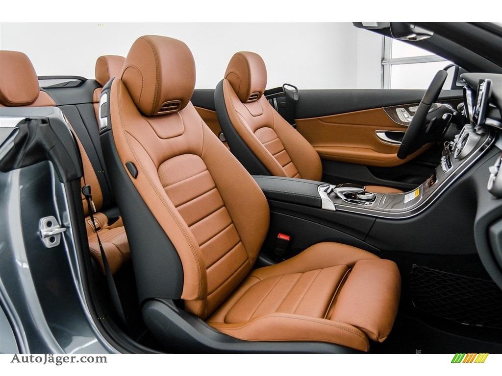 2018 C 300 Cabriolet - Selenite Grey Metallic / Saddle Brown/Black photo #2