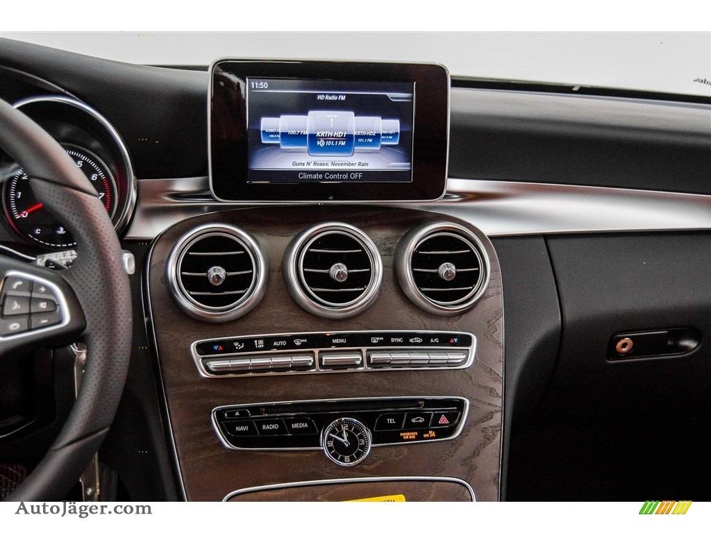 2018 C 300 Cabriolet - Selenite Grey Metallic / Saddle Brown/Black photo #5